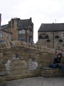 Skipton leží na okraji přírodní rezevace  - brána do údolí